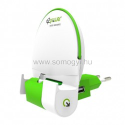Q2 power mobiltartó és töltő